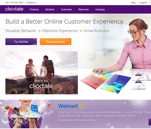 Clicktale Growth Hacking Tool