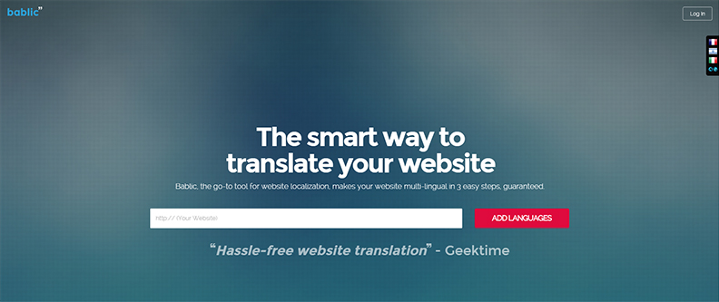 Growth Hacking Tool for Website Translation