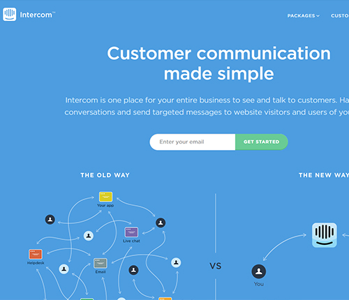 Intercom Growth Hacking Tool