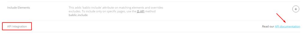 API Integration - Bablic Dashboard