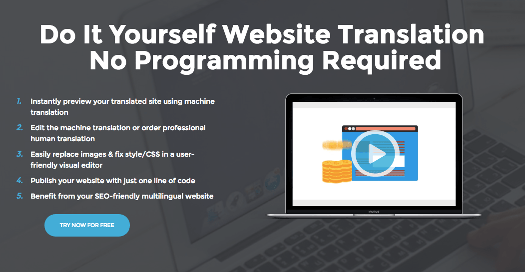 Bablic website translation platform