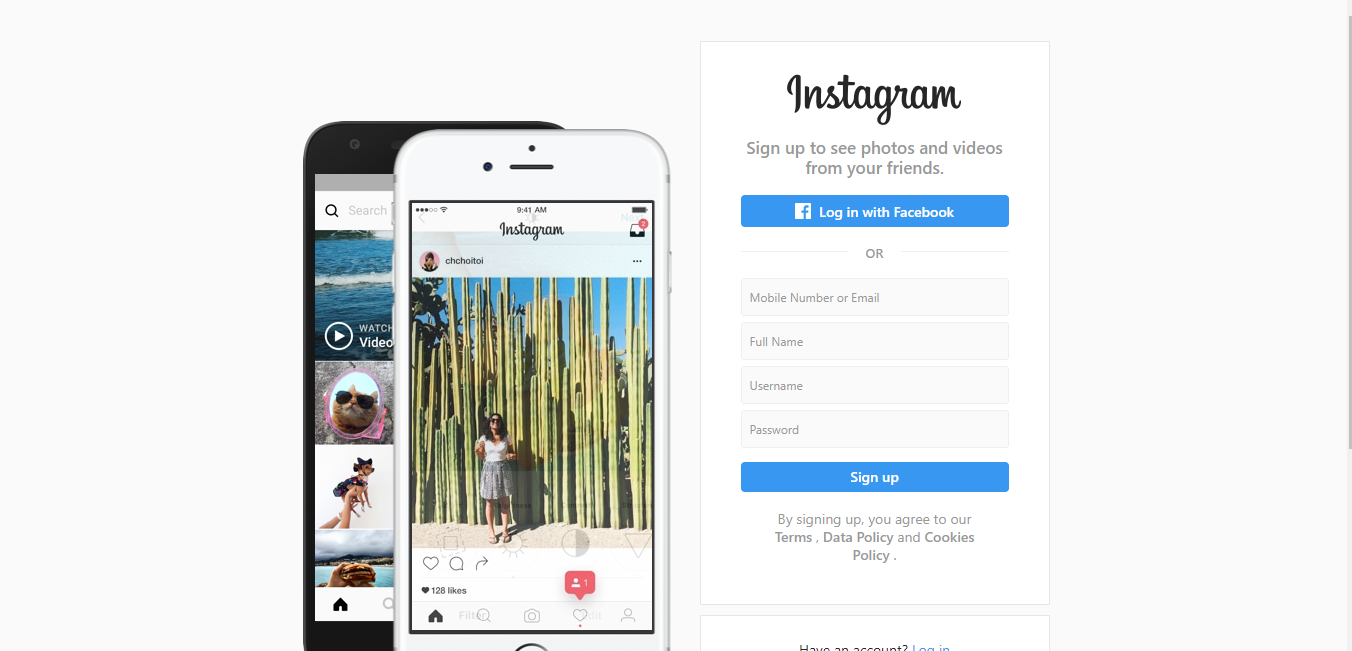 Instagram - photo-based digital platform