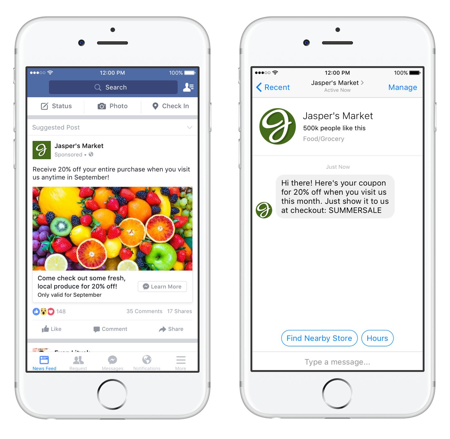 facebook messanger chatbox